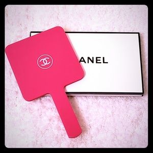 BNIB Chanel makeup mirror hot pink